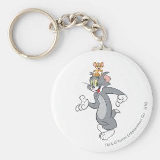Pares de Tom y Jerry Llaveros Personalizados