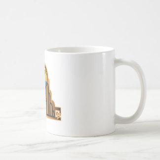 Pares del art déco taza