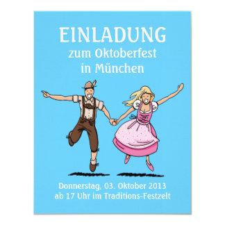 Pares del baile de Oktoberfest Munich de la Anuncios Personalizados