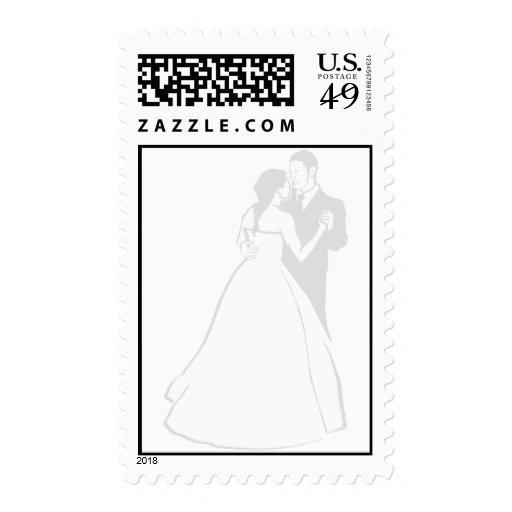 Pares del baile sellos postales