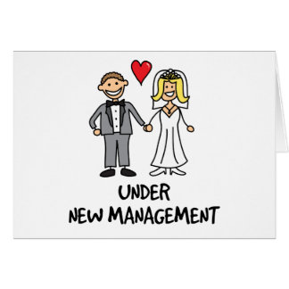 Pares del boda - bajo nueva gestión felicitacion