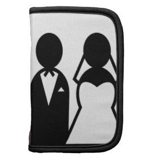 Pares del boda del icono organizadores