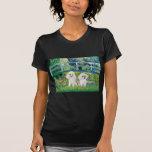 Pares del caniche (W2) - puente Camiseta