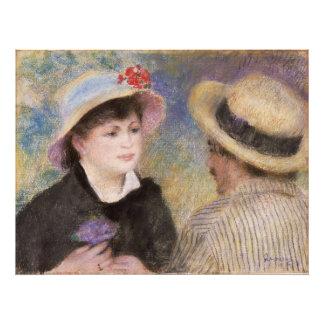 Pares del canotaje de Pierre-Auguste Renoir Fotografías