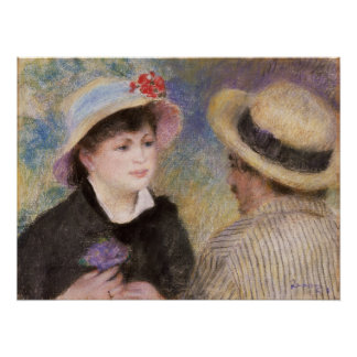 Pares del canotaje de Pierre-Auguste Renoir