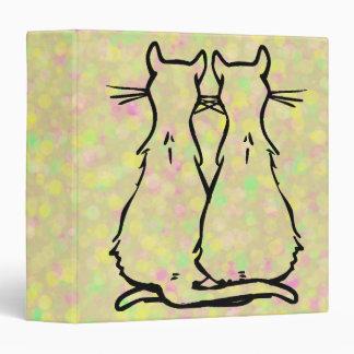 """PARES DEL CAT CARPETA 1 1/2"""""""