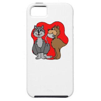 Pares del gato iPhone 5 Case-Mate carcasa