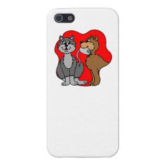 Pares del gato iPhone 5 cárcasa
