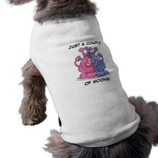Pares del matón camisa de perro