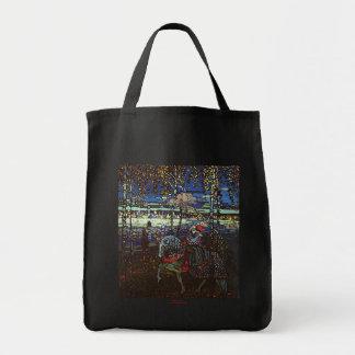 Pares del montar a caballo de Wassily Kandinsky 19 Bolsa