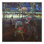 Pares del montar a caballo de Wassily Kandinsky Invitacion Personalizada