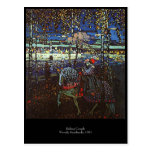 Pares del montar a caballo de Wassily Kandinsky Postal