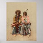 Pares del nativo americano, 1899 impresiones