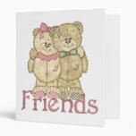 Pares del oso de peluche de los amigos - colores o