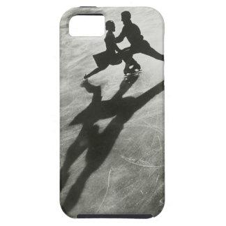 Pares del patinaje de hielo funda para iPhone 5 tough