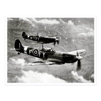 Pares del Spitfire Tarjeta Postal