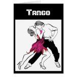 Pares del tango tarjeton