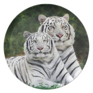 pares del tigre platos de comidas