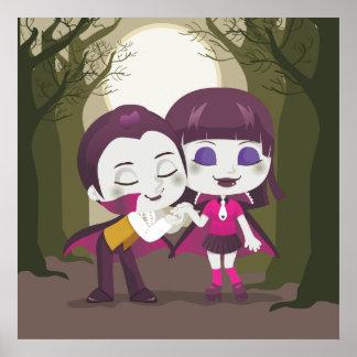Pares del vampiro posters