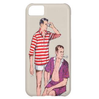 Pares del vintage 50s de hombres de hombres funda para iPhone 5C