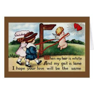 Pares después del Cupid a Loveland Tarjeta De Felicitación