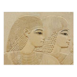 Pares egipcios tarjeta postal