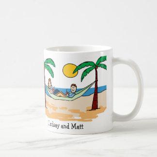 Pares el vacaciones - pelo ligero tazas de café