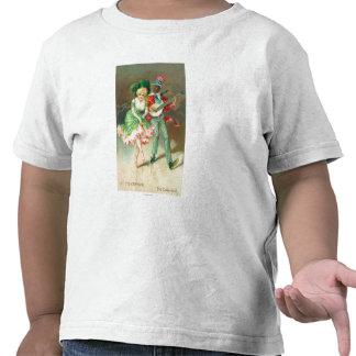 Pares en el traje que hace el Torta-Paseo Camisetas