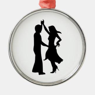 Pares estándar del baile ornamentos de navidad