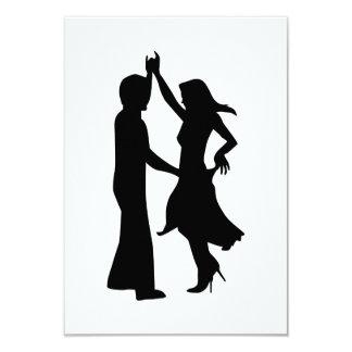 Pares estándar del baile comunicados personalizados
