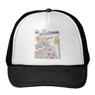 Pares fantasmagóricos de Halloween Gorras