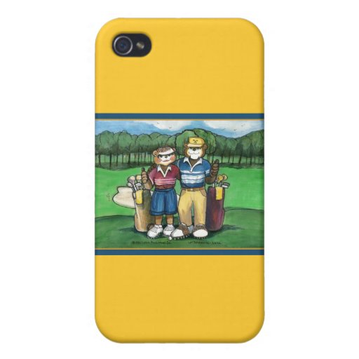Pares Golfing iPhone 4 Protector