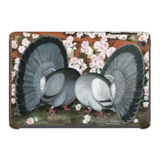Pares hecho juegos palomas de la cola de milano fundas de iPad mini