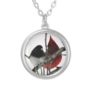 Pares impares de los pájaros del amor colgante personalizado