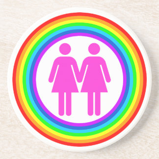 Pares lesbianos del arco iris