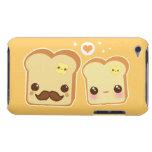 Pares lindos de las tostadas de Kawaii iPod Touch Case-Mate Carcasas
