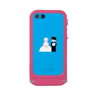 Pares lindos del boda funda para iPhone 5 incipio ATLAS ID