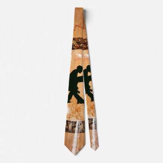 Pares maravillosos del baile corbatas personalizadas