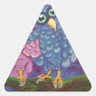 Pares Calcomanía De Triangulo