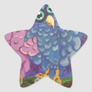 Pares Calcomanias Forma De Estrella