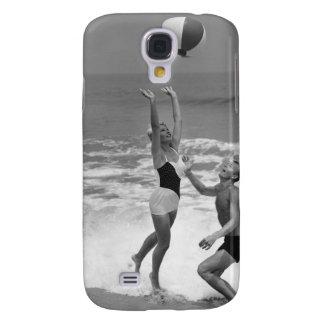 Pares que juegan con un Beachball Funda Para Galaxy S4