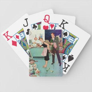 Pares retros baraja de cartas
