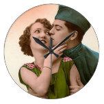 Pares románticos del vintage - fotografía relojes