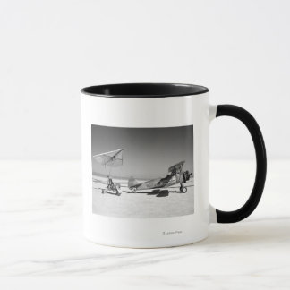 Paresev 1-A on Lakebed with Tow Plane Mug