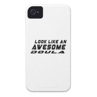 Parezca un Doula impresionante Case-Mate iPhone 4 Funda