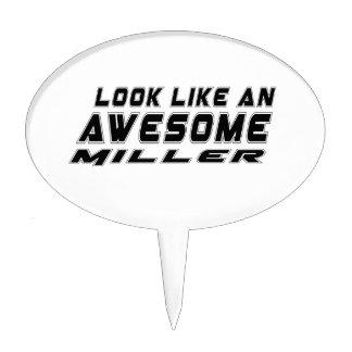 Parezca un Miller impresionante Decoraciones Para Tartas
