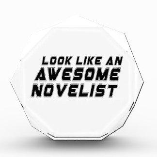 Parezca un novelista impresionante