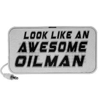 Parezca un Oilman impresionante iPod Altavoces