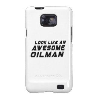 Parezca un Oilman impresionante Samsung Galaxy S2 Fundas