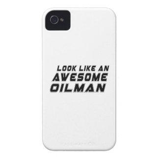Parezca un Oilman impresionante iPhone 4 Cárcasa